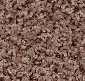 Carpet | Polyester swatch in brown